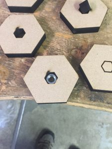 Hex Hold with screw